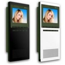 Θυροτηλεόραση GOLMAR για 4 διαμερίσματα με μόνιτορ SZENA