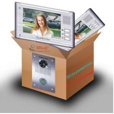 Θυροτηλεόραση Competition MT337  για μονοκατοικία 1 είσοδο και 2 μονιτορ