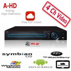 AHD DVR 6104-hd